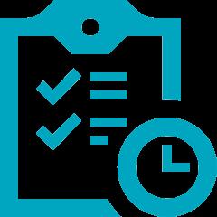 Piktogramm Stellenausschreibung